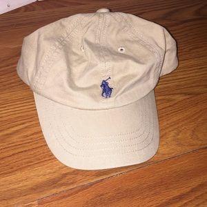 Baby Khaki Polo Hat/Cap